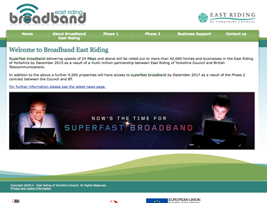 Broadband East Riding